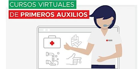 Introducción a los Primeros Auxilios - Online- Cruz Roja Argentina boletos