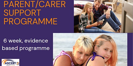 Parent/Carer Support Programme tickets