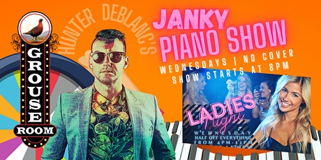 Hunter DeBlanc's Janky Piano Show tickets