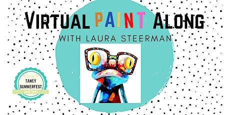 Pop Art Paint Along for Kids tickets