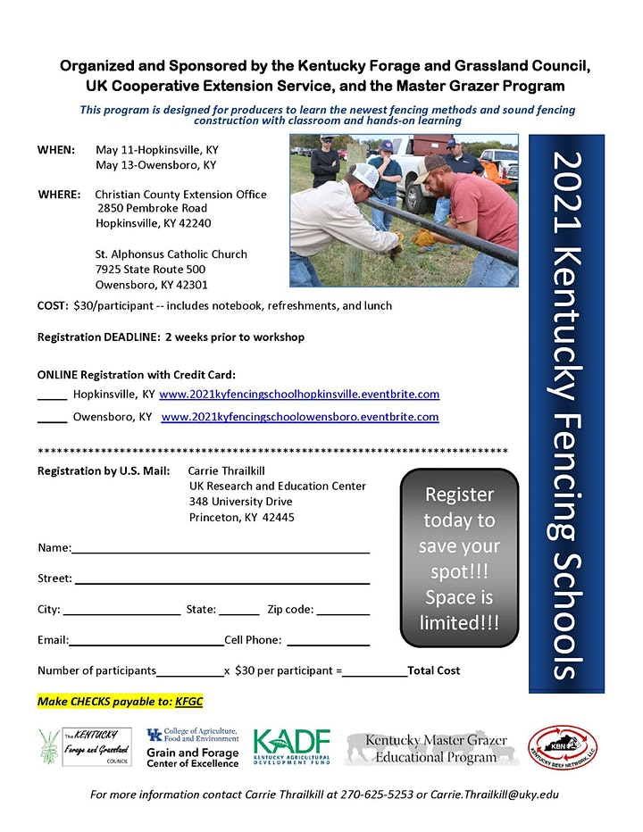 Kentucky Fencing Schools Spring Owensboro KY image