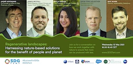 Regenerative landscapes: Harnessing nature-based solutions tickets