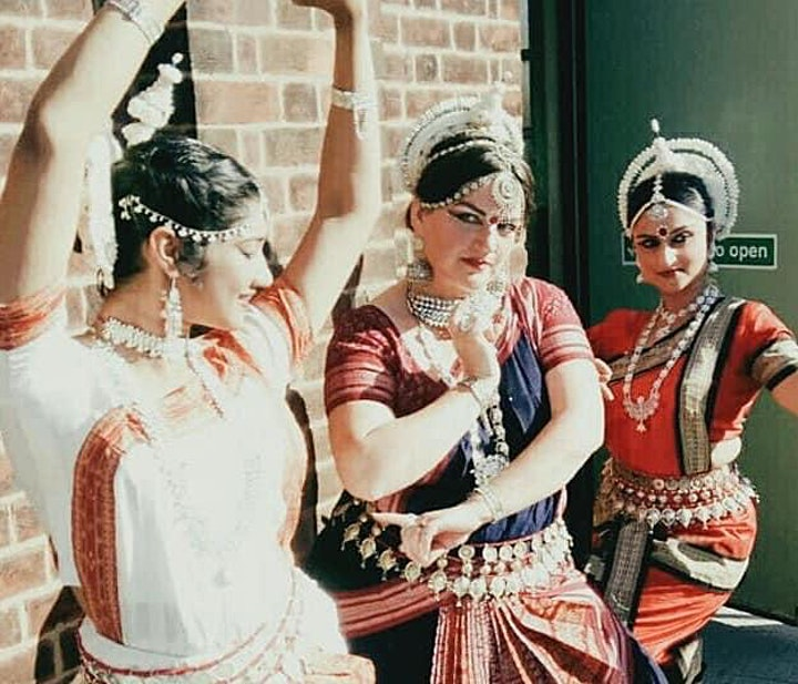 Workshop: Intro to Healing Odissi Dance..In-Person & Zoom image