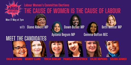 The Cause of Women is the Cause of Labour - Meet the Candidates Rally! bilhetes