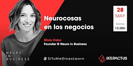 #STMDL 26 | Neurocosas en los negocios por Sílvia Cubo entradas