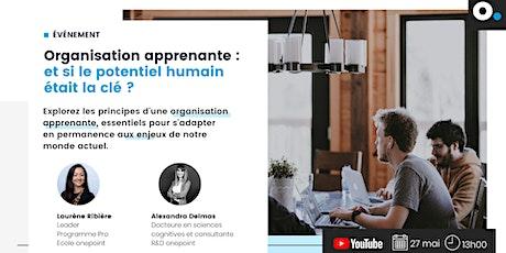 Organisation apprenante : et si le potentiel humain était la clé ? billets