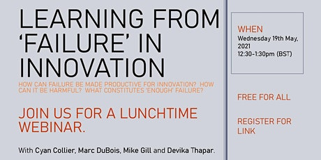 Learning from 'failure' in innovation tickets