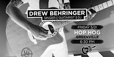 Drew Behringer: Live in Greenville tickets