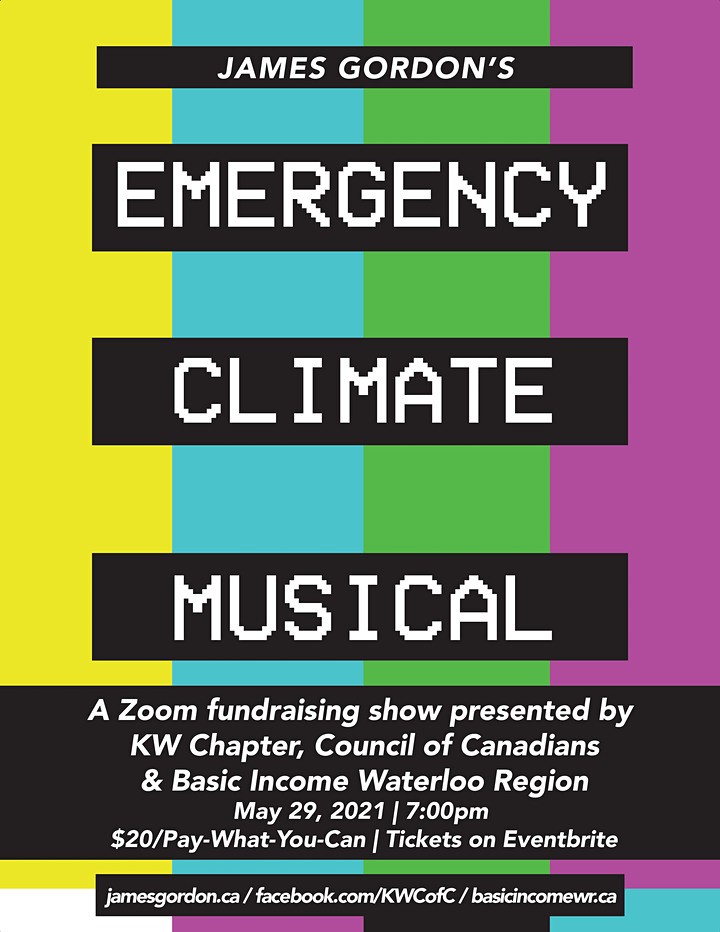 James Gordon's Emergency Climate Musical - KW image