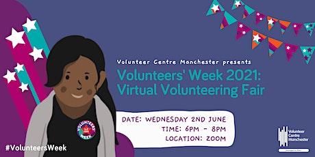 Virtual Volunteering Fair - Weds 2nd June 6-8pm tickets