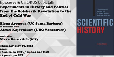 hpscesee&CHORUS book talk:  Elena Aronova, Scientific History tickets