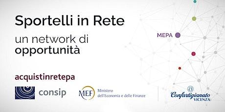 Aggiornamento MePA  il 18 maggio biglietti