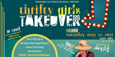 Thrifty Girls Take Over - Baltimore, MD tickets