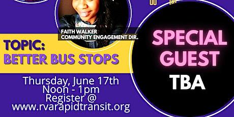 Transit Talk: Better Bus Stops tickets