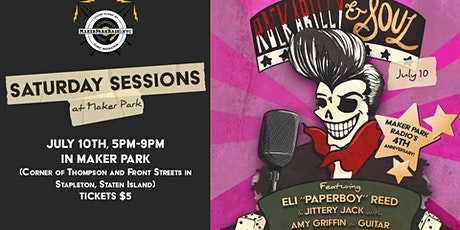 Saturday Sessions at Maker Park - Rockabilly & Soul tickets
