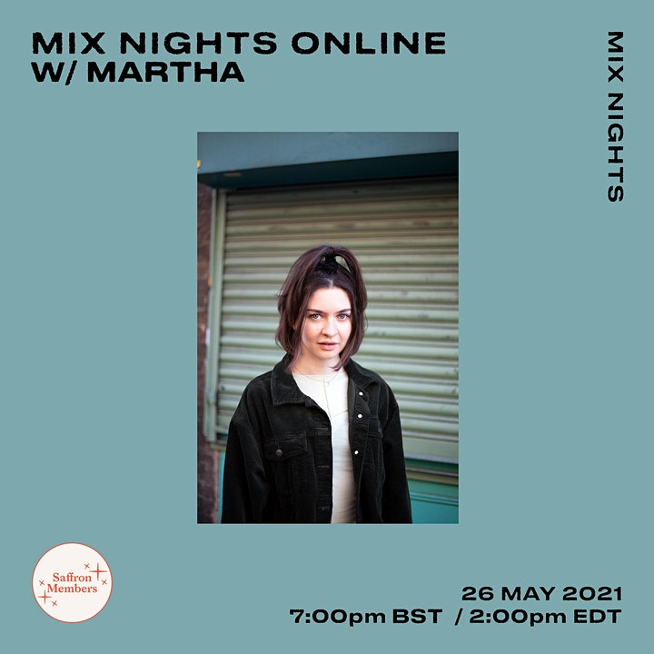 Mix Nights Online w/ Martha image