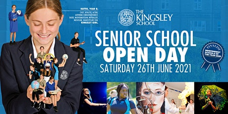 The Kingsley Senior School Open Day tickets