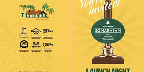 """Somarasam"" Launch Night tickets"