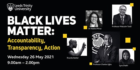 Black Lives Matter: Accountability, Transparency, Action tickets