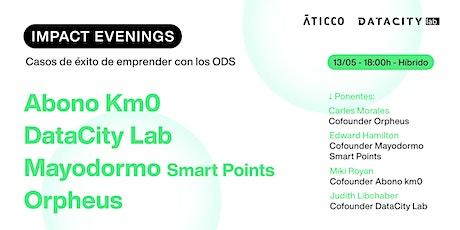 Impact Evenings con Abono Km. 0, Mayordomo Smart Points y Orpheus entradas