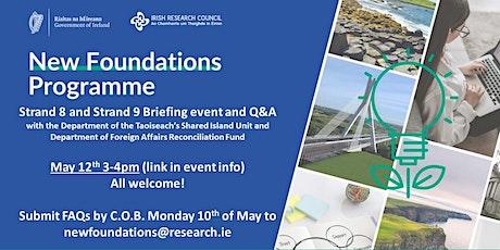New Foundations 2021 Briefing Webinar tickets