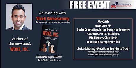 Woke Inc. |  An Evening with Vivek Ramaswamy tickets