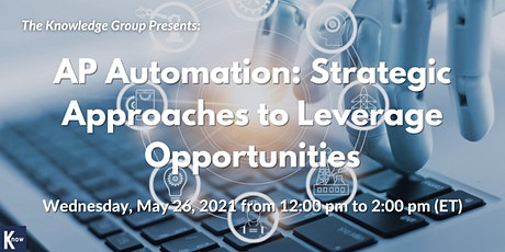 AP Automation: Strategic Approaches to Leverage Opportunities biglietti
