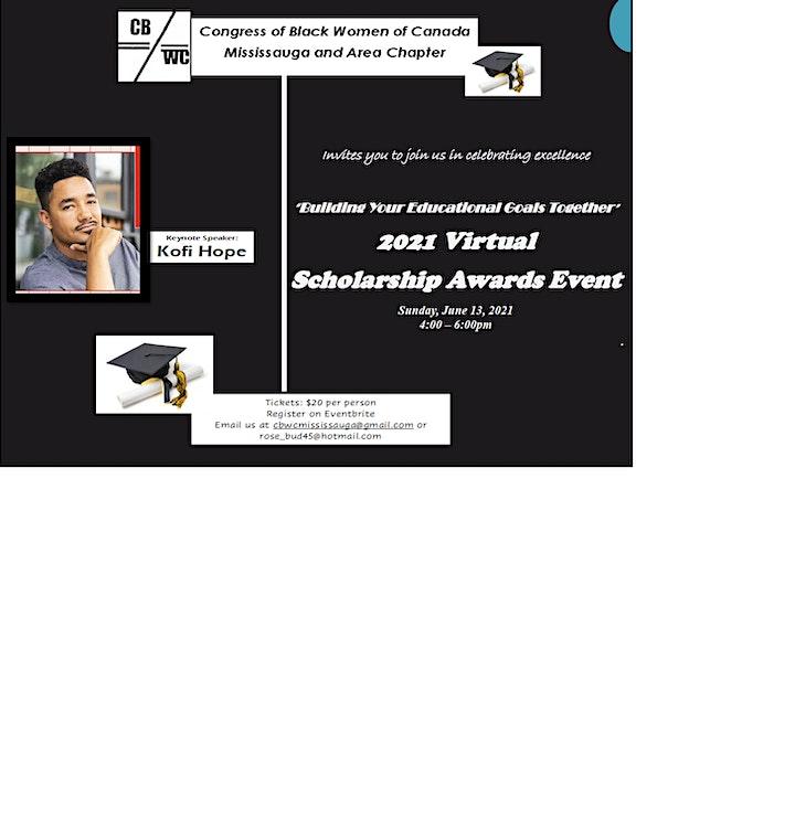 CBWC MISSISSAUGA & AREA CHAPTER 2021 VIRTUAL SCHOLARSHIP AWARDS image