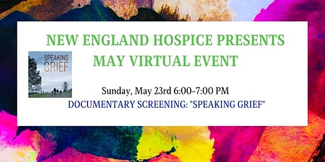 """Speaking Grief"" Documentary Screening tickets"