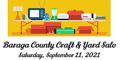 Baraga County Craft & Yard Sale tickets