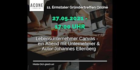 Lebensunternehmer Canvas - ein Abend mit Johannes Ellenberg Tickets