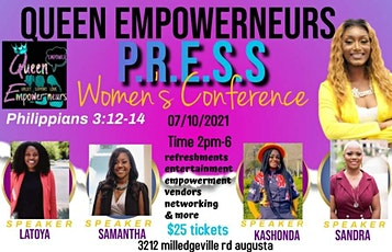 Queen Empowerneurs P.R.E.S.S women conference tickets