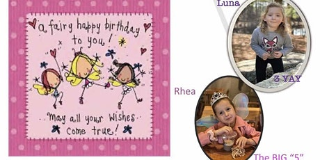 Rhea and Luna's Princess Fairy Party tickets