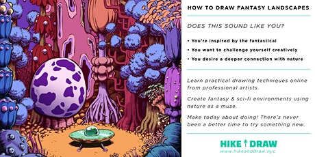 How to Draw Fantasy Landscapes with Conor Nolan tickets