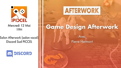 Game Design Afterwork avec Pierre Hermant tickets