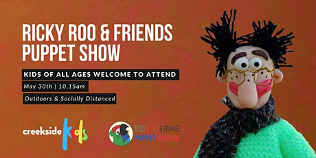 Special Service Sunday- Ricky Roo & Friends Puppet Show tickets