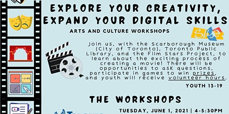 Explore Your Creativity, Expand Your Digital Skills: Film Showcase! tickets