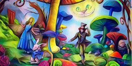 Pintamos con Alicia en el País de las Maravillas. 5-12 años. ONLINE. tickets