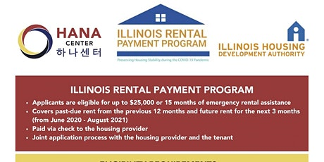 Illinois Rental Payment Program Information Sessions tickets