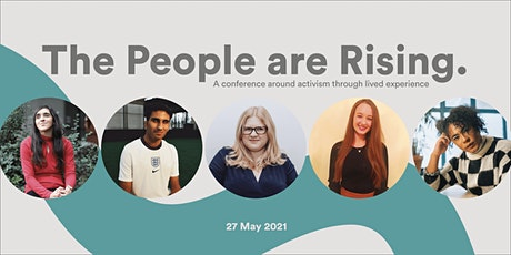 The People are Rising: Activism through lived experience tickets