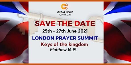 London Prayer Summit tickets