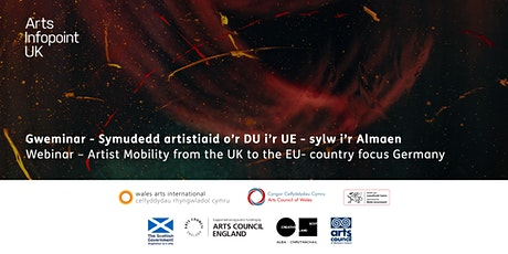 Webinar - Artist mobility from the UK to the EU – country focus Germany tickets