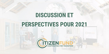 Discussions et perspectives du Citizenfund billets