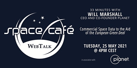 "Space Café WebTalk -  ""33 minutes with Will Marshall"" tickets"