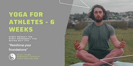 Yoga For Athletes - 3 Weeks tickets