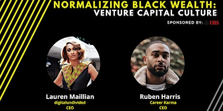 Normalizing Black Culture In Venture Capital tickets