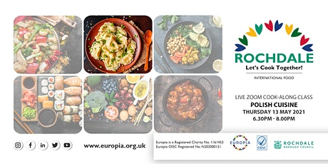 Let's cook together! - Live online -  ZOOM cooking class - Polish cuisine tickets