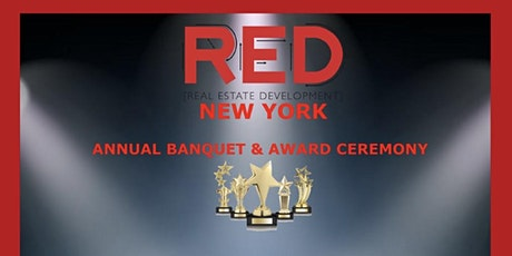RED New York Awards ceremony tickets
