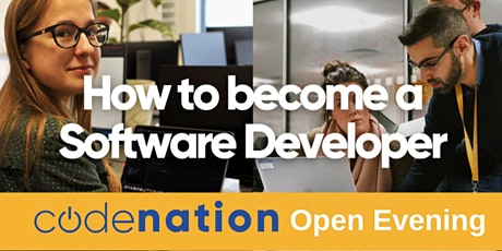 Code Nation - Virtual Open Evening - 18th  May tickets
