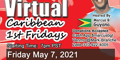 Virtual Caribbean First Friday tickets